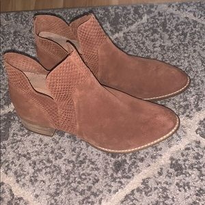 Anthropologie Seychelles Leather Booties
